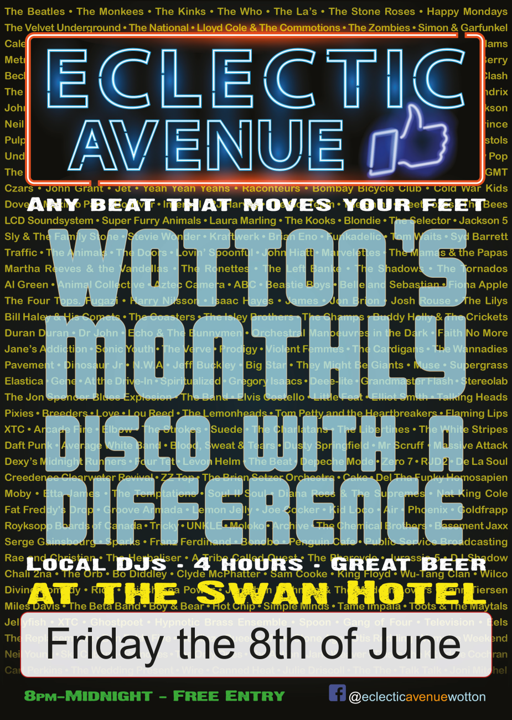 Eclectic Avenue Poster 08-06-18