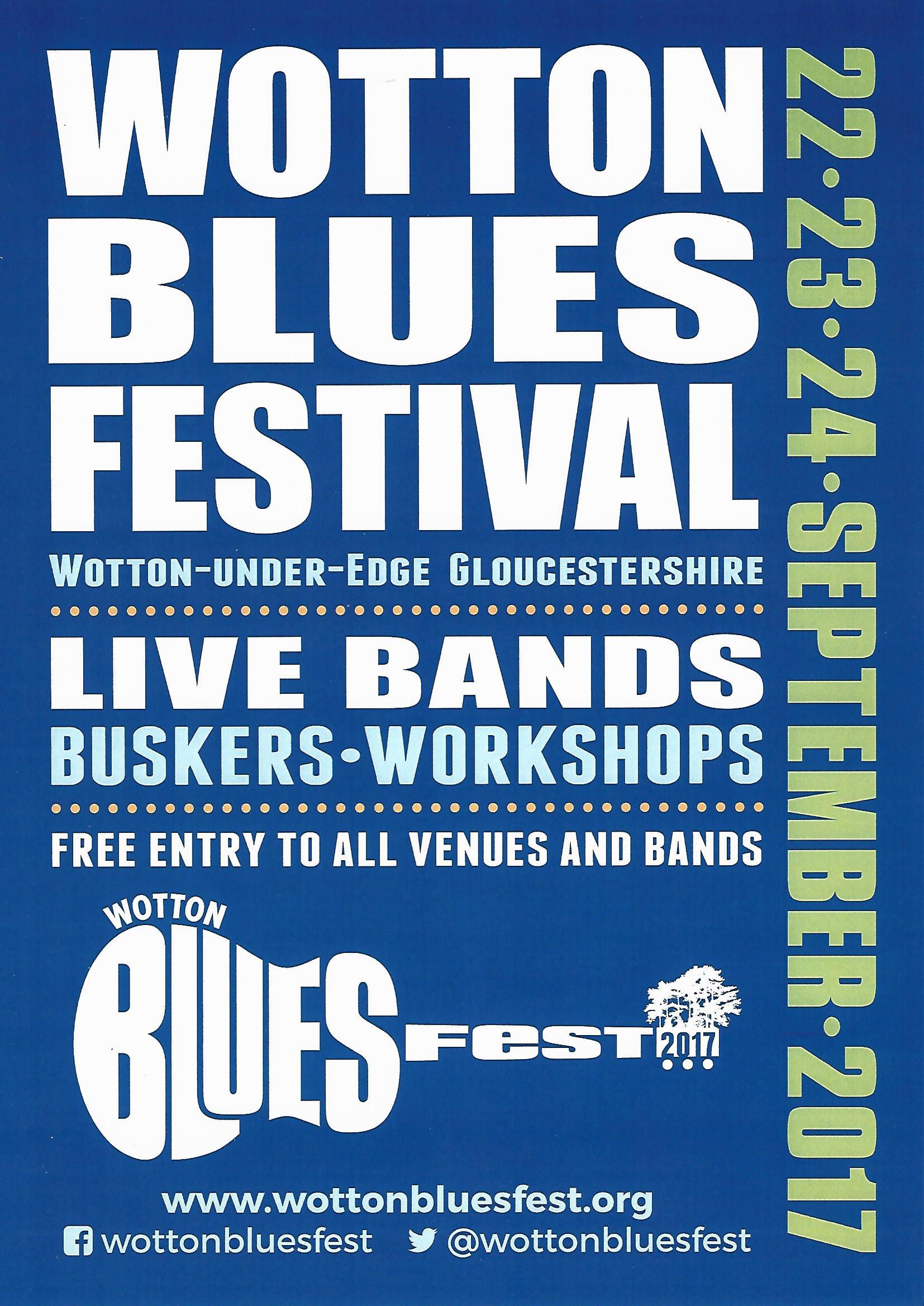 Wotton Bluesfest Poster