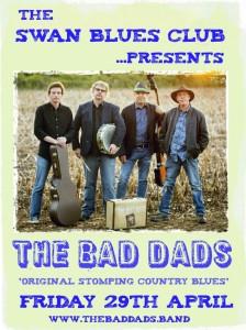 Wotton Blues Night April Bad Dads Blues Band