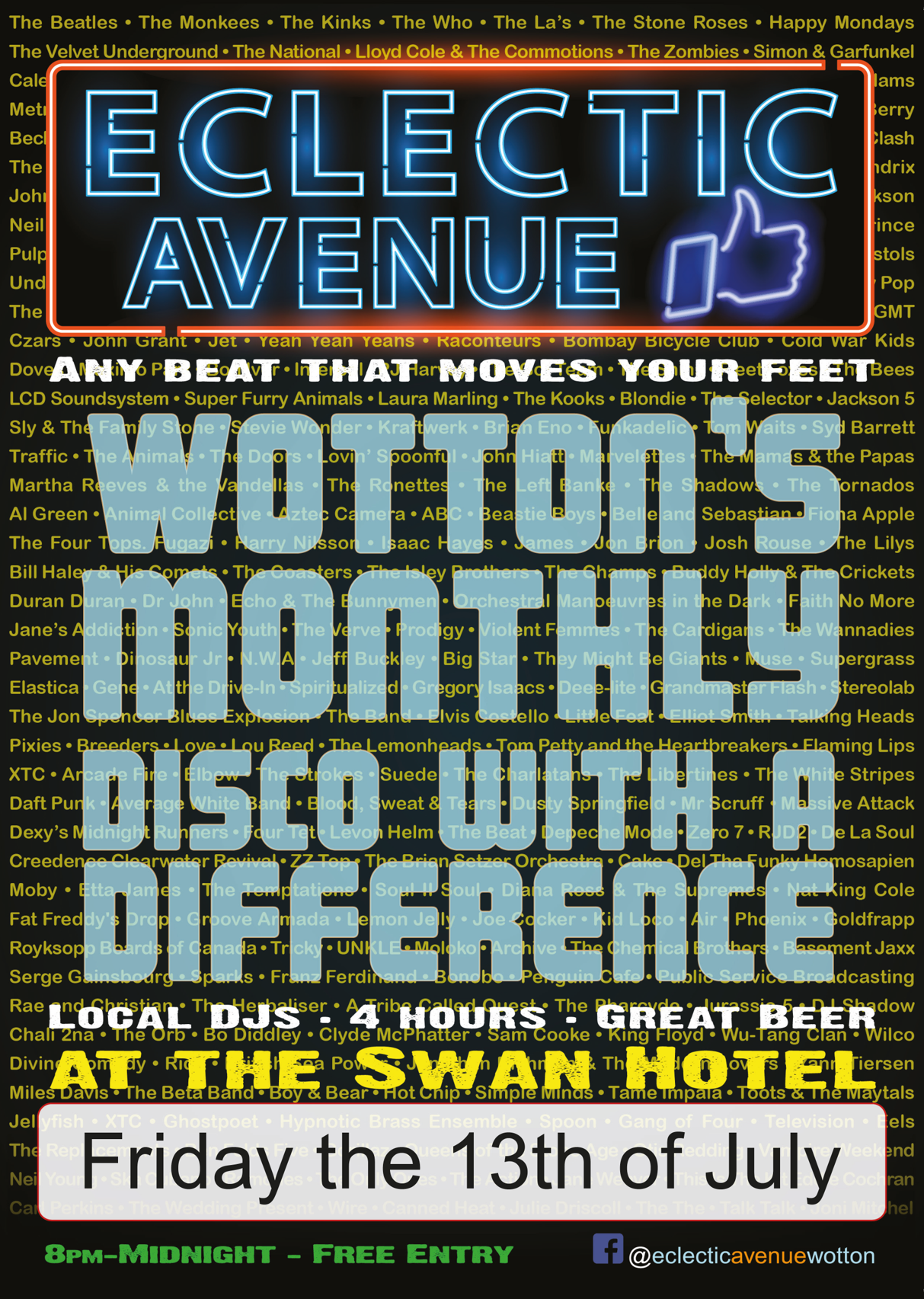 Eclectic Avenue Poster 13-07-18