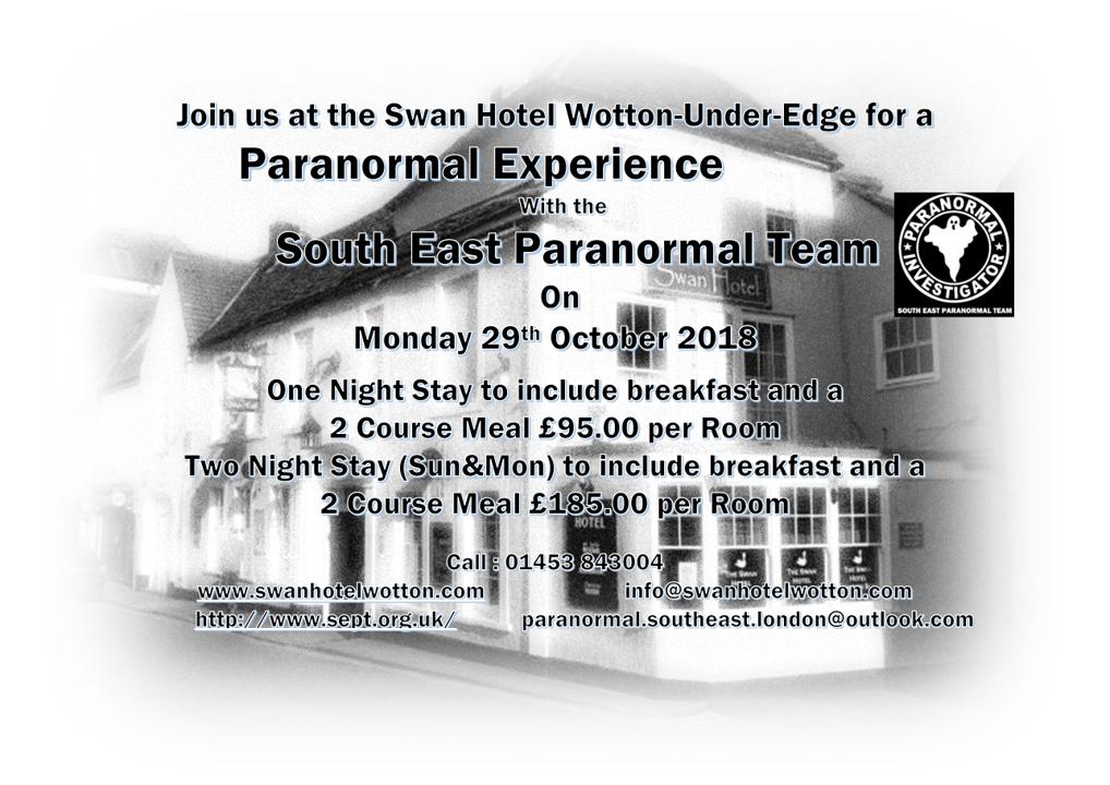 Paranormal Advert